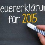 Steuersoftware 2015 – Taxman, WISO und Co.